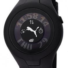 Puma PU910212/002 ceas dama nou, 100% veritabil. Garantie.In stoc - Livrare rapida., Quartz, Otel, Cauciuc, Analog