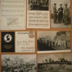 7 Ilustrate GERMANIA, WW1, razboi 1915-1917