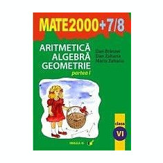MATE 2000. ARITMETICA. ALGEBRA. GEOMETRIE. PARTEA I - Manual scolar paralela 45, Clasa 6, Paralela 45