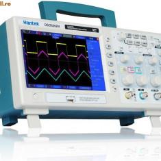 Osciloscop digital 2x100 MHz 1GS/s Hantek DSO5102P NOU! sigilat la cutie