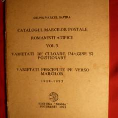 CATALOG TIMBRE ROM ATIPICE VOL 3 1858-1992 SAPIRA
