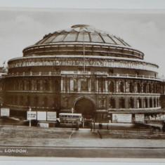 Carte postala LONDON ALBERT HALL VALENTINE S REAL PHOTOGRAPHY LONDRA ANGLIA, Necirculata, Fotografie
