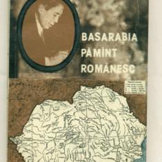 Basarabia Pamant Romanesc - Nicolae Titulescu - Istorie