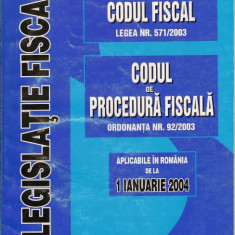 Codul fiscal, Codul de procedura fiscala - Carte Drept bancar