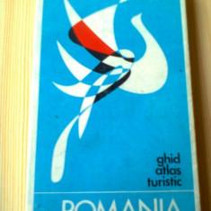 Romania Ghid atlas turistic 1971 RSR ed stadion hobby calatorie harti turism
