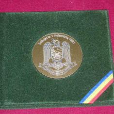 MPL2 - PLACHETA - TEMATICA MILITARA - VANATORI DE MUNTE - Medalii Romania