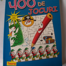 400 DE JOCURI, CARTE .136 PAGINI . - Joc board game