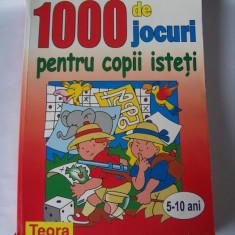 JOCURI PENTRU COPII ISTETI, CARTE .5-10 ANI, 387 PAGINI . - Joc board game