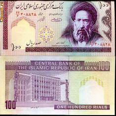 IRAN- 100 RIALS- UNC!! - bancnota asia