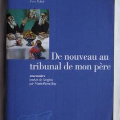 Isaac Bashevis SInger De nouveau au tribunal de mon pere Souvenirs Mercure de France 2003 - Biografie
