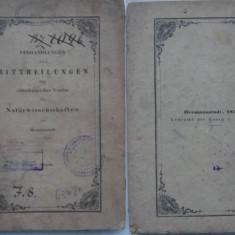 Asociatia de Stiinte Naturale ale Ardealului , Sibiu , 1851 , lucrare cu gravuri