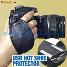 Camera Grip Hand Strap Nikon Canon Sony dslr camera foto suport mana piele eco