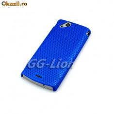 Husa protectie albastra airmesh Sony Ericsson SE Xperia Arc X12 mesh