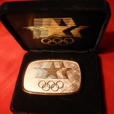 Centura Olimpica - Los Angeles 1984, bronz aurit - Jubiliare