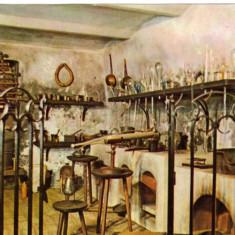 Carte postala Ilustrata Muzeul de istorie al Transilvaniei-colectia de istorie a farmaciei si medicinii