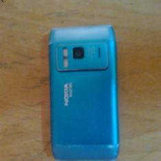 Vand telefon nokia n8 - Telefon mobil Nokia N8, Albastru, Neblocat