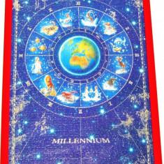 AuX: Impozant PUZZLE Tablou Horoscop MILLENIUM Modern Aproape NOU - Tablou autor neidentificat