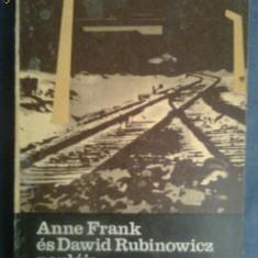 Anne Frank es Dawid Rubinowicz Napoja