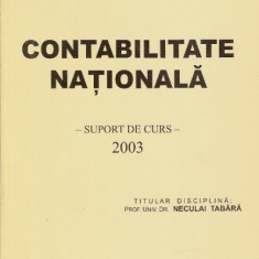 Contabilitate nationala, suport de curs - Neculai Tabara - Curs marketing