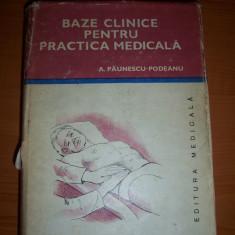 Bazele clinice pentru practica medicala , CHEI PENTRU DIAGNOSTIC SI TRATAMENT VOL 4 .