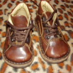 Pantofi piele chicco - Pantofi copii, Baieti, Marime: 20, Piele naturala, Maro