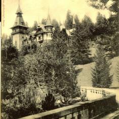 Sinaia - Castelul Peles - clasica, circulata, timbru intact, 1901