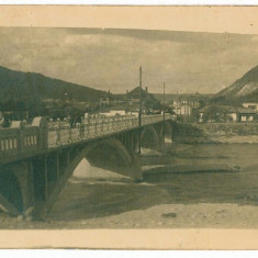 2133 - PIATRA NEAMT - Podul peste vale - old postcard, real FOTO - used - 1939