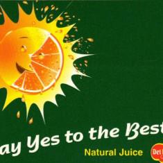 Carte postala ilustrata - de promovare a firmei de sucuri DEL MONTE