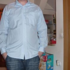Camasa cu maneca lunga pentru barbati, moderna, marime XL, REDUSA ACUM! - Camasa barbati, Culoare: Albastru