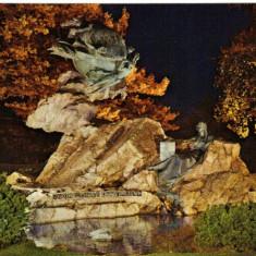 Carte postala ilustrata - Berna, monumentul Union Postale Universale