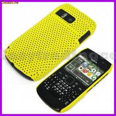 Husa + folie ecran husa galbena antiradiatii Nokia e6 airmesh mesh expediere gratuita - Husa Telefon