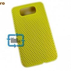 Husa galbena antiradiatii  mesh HTC HD2 airmesh expediere gratuita