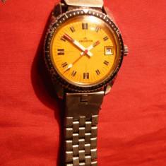 Ceas de mana cu bratara metalica- marca HELVETIA