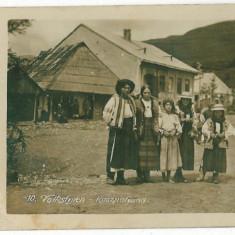 1869 - Maramures, RUSZPOLYANA, Ethnic - old postcard, real FOTO - unused - 1916 - Carte Postala Maramures 1904-1918, Necirculata, Fotografie