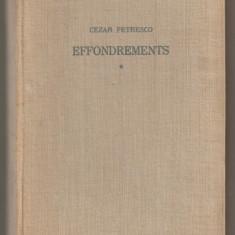 (C644) EFFONDREMENTS DE CEZAR PETRESCO