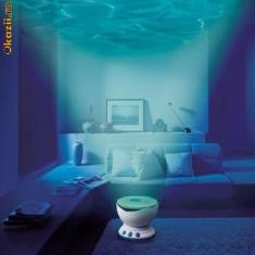 Lampa cu proiector de valuri pentru camera Cadoul ideal pentru un ambient deosebit