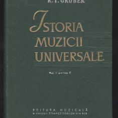 R. I. Gruber_ISTORIA MUZICII UNIVERSALE vol. II parte II