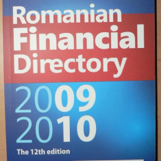 Anuarul Romanian Financial Directory 2009 - 2010 - In limba engleza - Carte despre fiscalitate