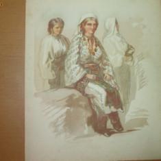 Preziosi Plansa color Targul Mosilor Costume din Arges Reducere 10 % - Carte de colectie