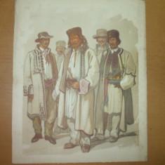 Preziosi Plansa color Targul Mosilor Costume din Mehedinti Reducere 10 % - Carte de colectie