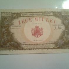 10000 lei 28 mai 1946 - Bancnota romaneasca