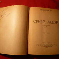 Ioan Slavici - Opere Alese 1949, vol.1-Nuvela