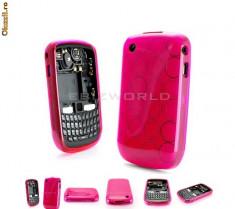 Husa silicon roz blackberry 8520 curve