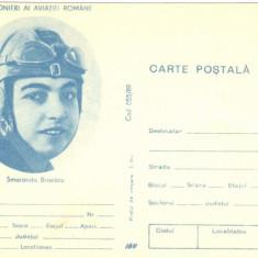 Carte postala ( intreg postal ) aerofilatelie,  Smaranda Braescu