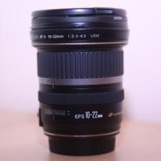 Obiectiv Canon 10-22 - Obiectiv DSLR Canon, Canon - EF/EF-S