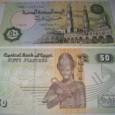 EGIPT 2008 - 50 PIASTRI - UNC - bancnota africa