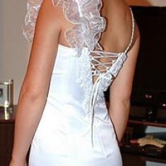 Rochie de mireasa, sirena, EXCEPTIONALA LA PRET