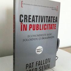 Creativitatea in publicitate - editura all - pat fallon - Carte de publicitate