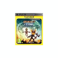 Ratchet and Clank A Crack in Time Platinum PS3 - Jocuri PS3 Sony, Actiune, 12+, Single player