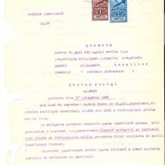 64 Document vechi fiscalizat-17oct1929- Apel al Mih.Anghelescu, versus Banca Comerciala Romana, avocat I.P.Lazaroneanu -Curte de Apel Galati
